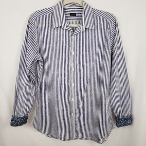 Paul Smith Stripe French Cuff Long Sleeve Size M